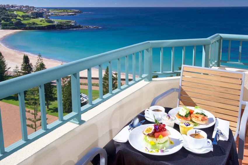 Crowne Plaza Coogee Beach, Ocean Front balcony