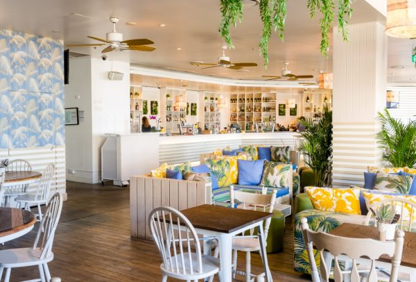 Oceans dining area and bar
