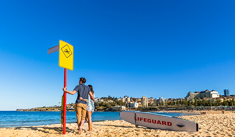 Unwind on Coogee Beach.