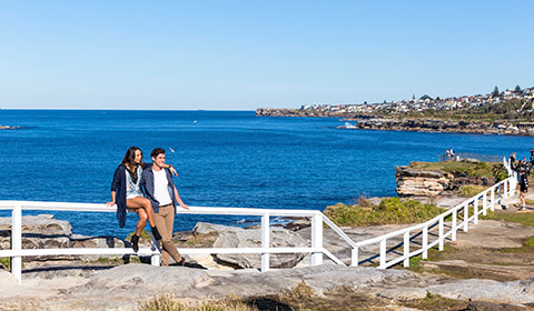 Coogee to Bondi Walk, East Sydney