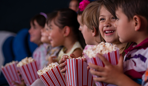 Kids movies school holidays at Crowne Plaza Coogee Beach.