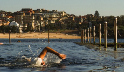 Wylies Bath's at Coogee Beach, Sydney.