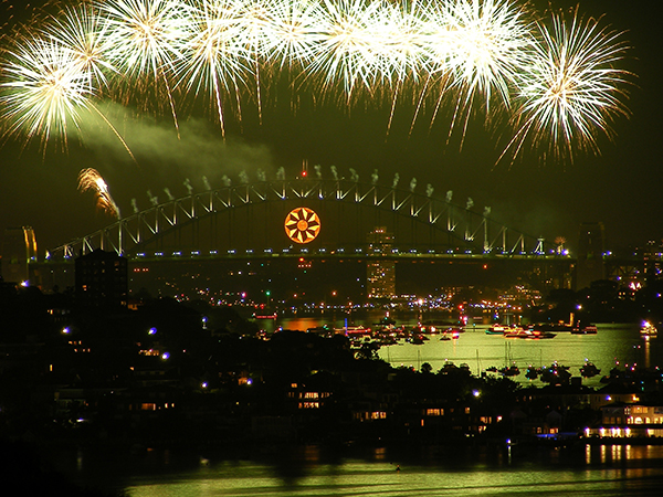 New Years Eve at Dudleys Page Reserve, Dover Heights, Sydney