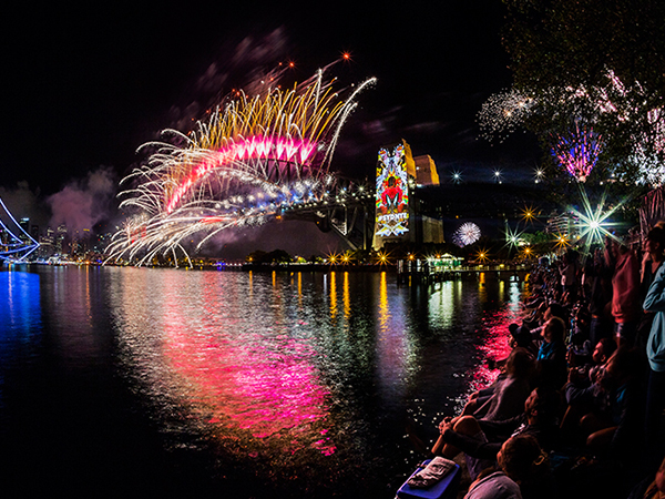 New Years Eve from Pirrama Park, Sydney