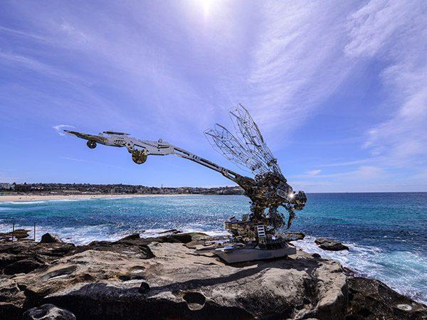 Rangerer sculpture piece by Xia Hang (2017)