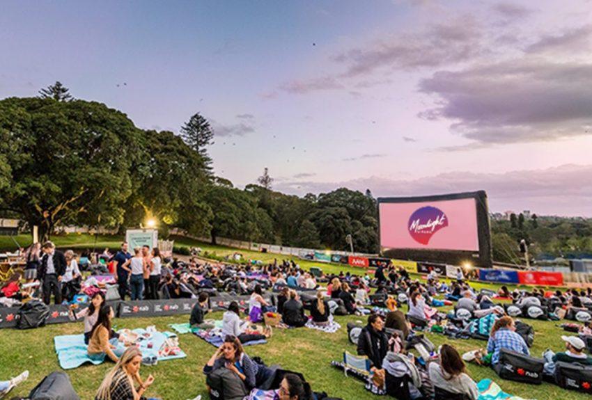 Moonlight Cinema, Centennial Park, by Sydney Arts Guide