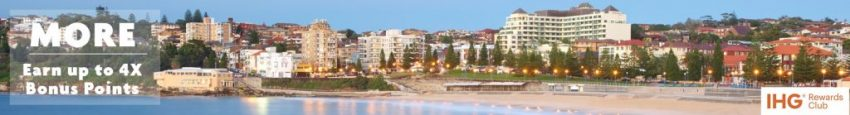 Earn up to 4x Bonus Points every night | Crowne Plaza Sydney Coogee Beach