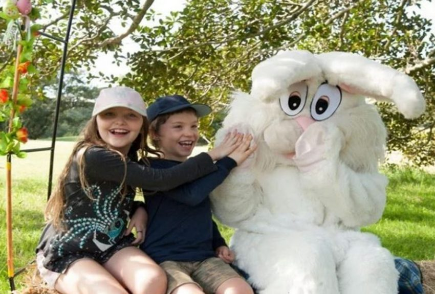 The Great Easter Egg Hunt, Centennial Park via Mouth of Mums
