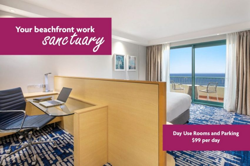 Renovated rooms for day use at Crowne Plaza Sydney Coogee Beach