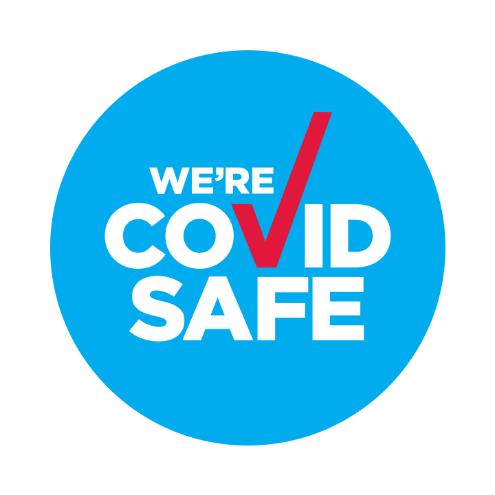 COVID Safe NSW State Government badge