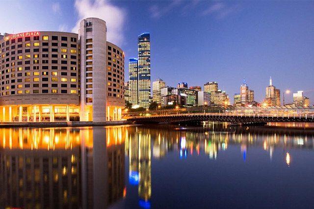 Melbourne hotel: Crowne Plaza Melbourne