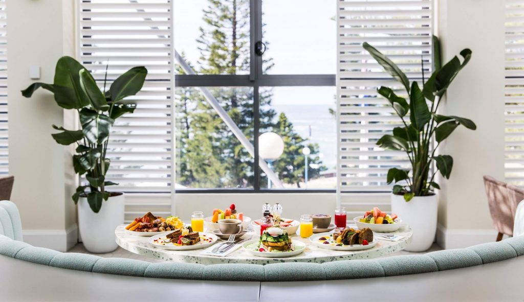 Shutters Breakfast | Crowne Plaza Sydney Coogee Beach