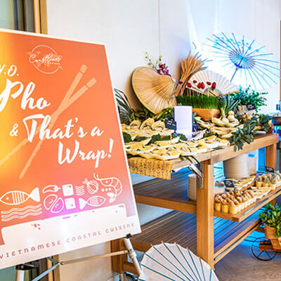 Day catering packages at Crowne Plaza Sydney Coogee Beach, function venue Sydney
