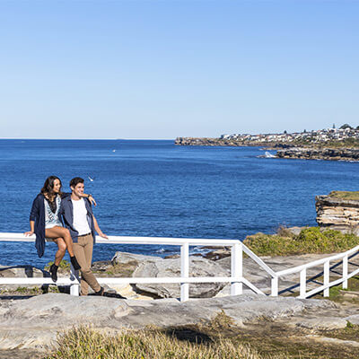 Coogee to Bondi coastal trail