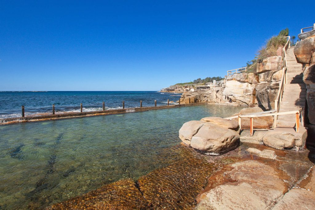 Swimming at Coogee Beach