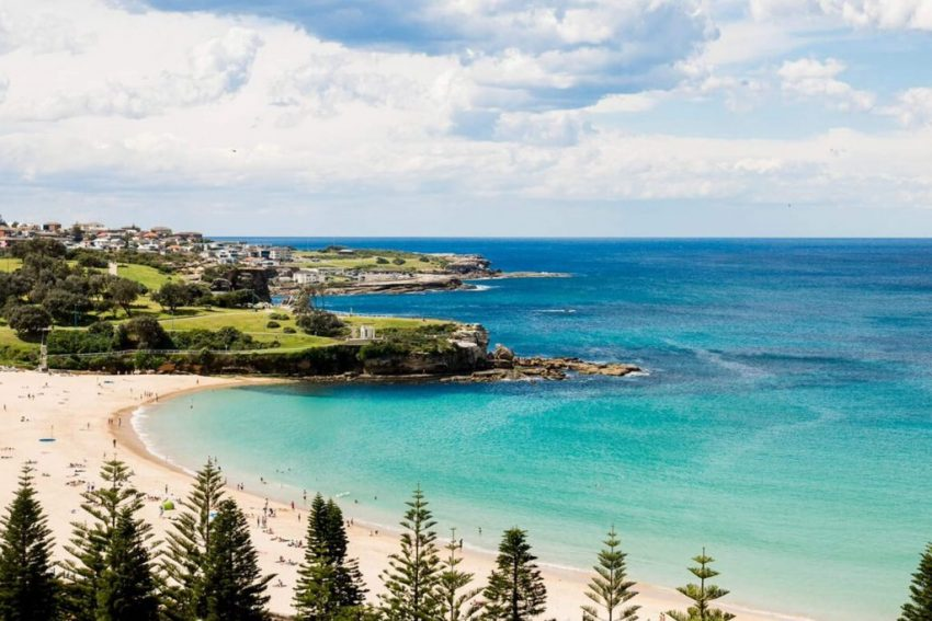 Ocean Front View at Crowne Plaza Sydney Coogee Beach