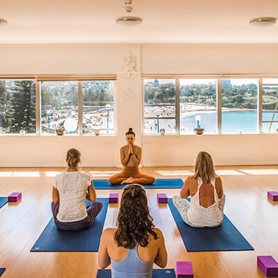 Yoga at The Living Room, Coogee