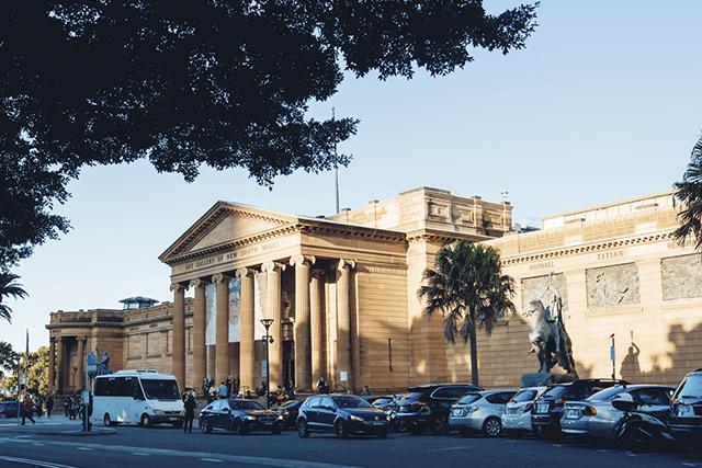 Art Gallery of NSW via Destination NSW