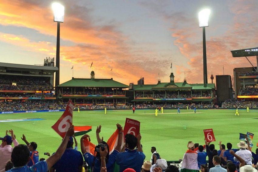 India v Australia ODI at Sydney Cricket Ground