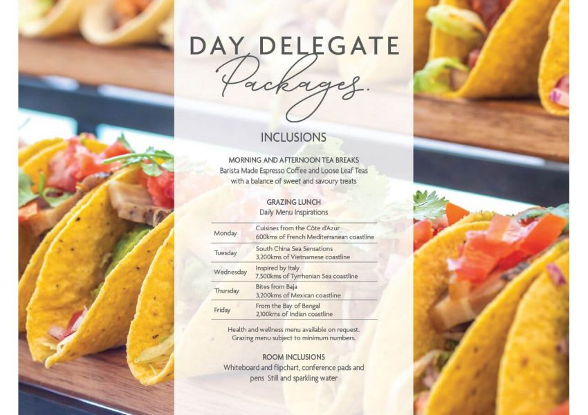 Day Delegate Package