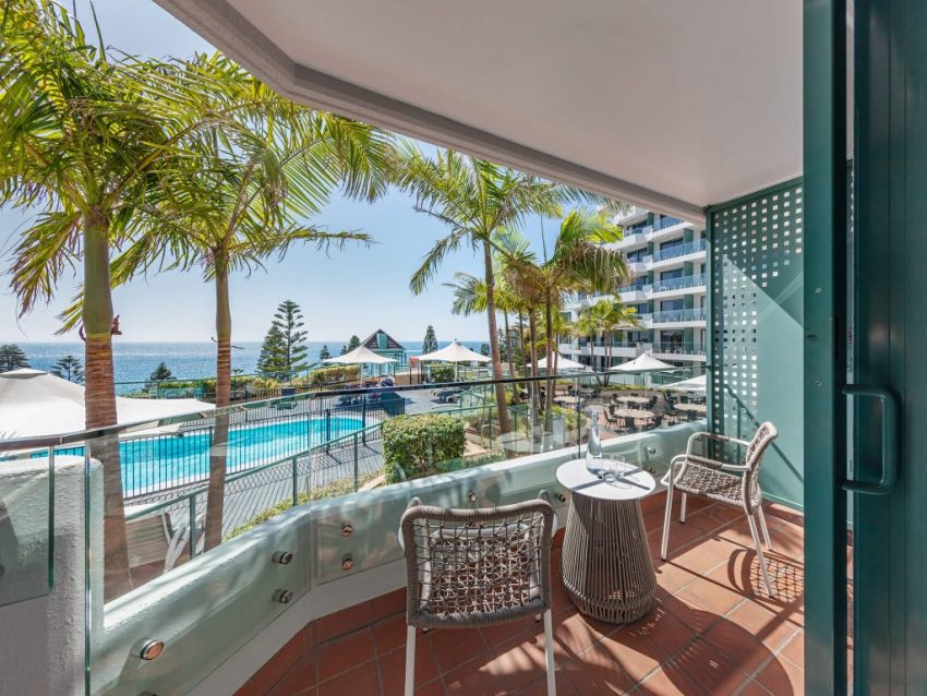 Twin Pool View at Crowne Plaza Sydney Coogee Beach