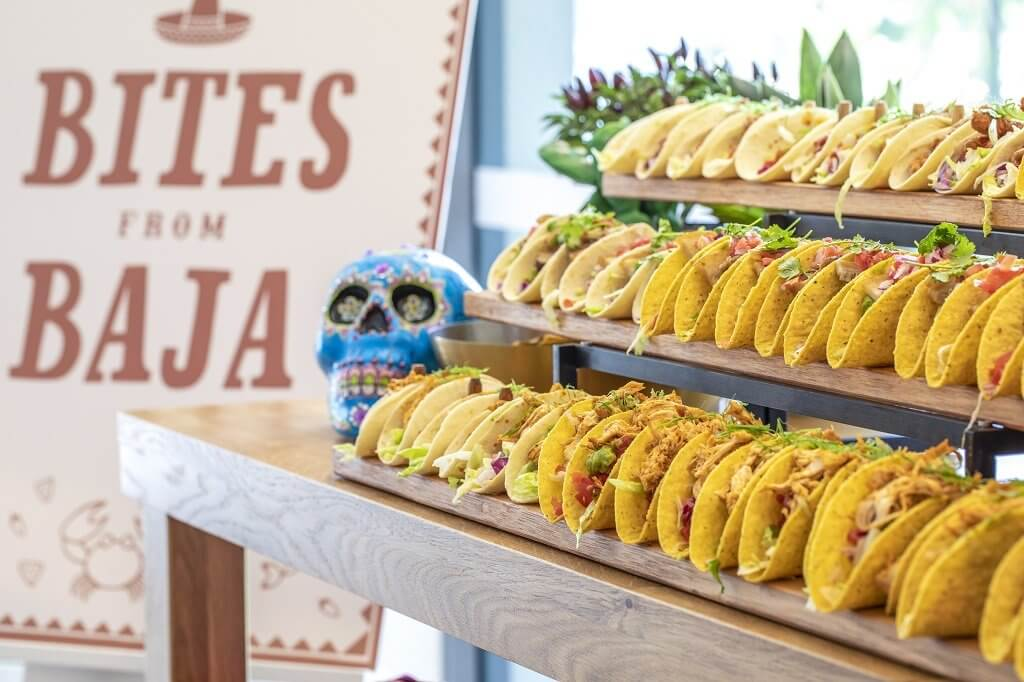 Day Delegate Package - Bites from Baja– Soft and Hard Shell Tacos Station