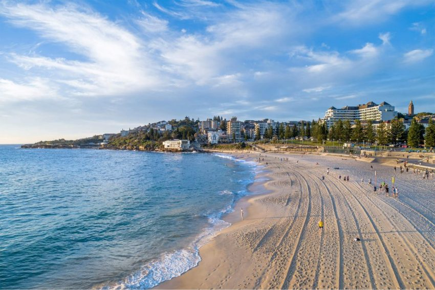 Photograph of Coogee Beach, Sydney NSW