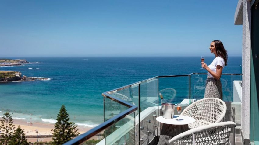 Reef Suite balcony at Crowne Plaza Sydney Coogee Beach